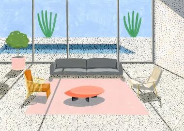 ანა პოპესკუ - მზიანი ლანდშაფტები და მოდერნისტული არქიტექტურა