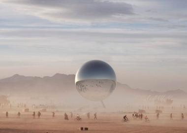 ბიარკ ინგელსისა და იაკობ ლანჯის პროექტი 2018 წლის Burning Man-ისთვის