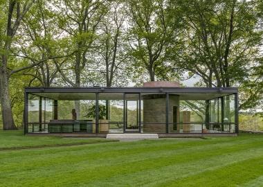 ფილიპ ჯონსონი - The Glass House