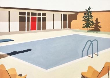 ელიზა გოსეს მხატვრობა - ავსტრალიის და ამერიკის გარეუბნები