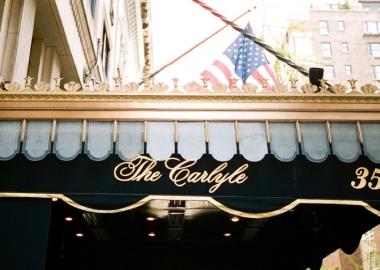 The Carlyle - ყველაზე გლამურული სასტუმრო მსოფლიოში