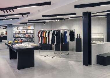 პარიზის 5 Concept store უნიკალური ინტერიერით