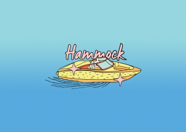 Hammock Summer Stickers by Kvachi