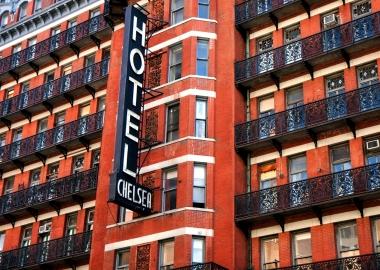 სასტუმრო ჩელსი - მეოცე საუკუნის ამერიკული კულტურის თავშესაფარი